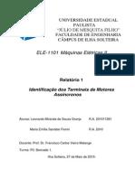 Identificação dos Terminais de Motores Assíncronos
