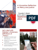 Vincentian Reflection on Mercy and Justice - Maher