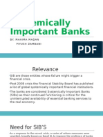 Systemically Important Banks
