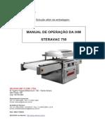 Manual Sterovac 750