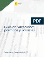 Guia Vacaciones y Permisos