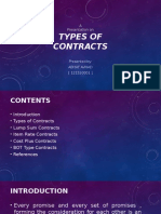 Types of Contracts1