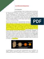 1er Informe de Geoquímica