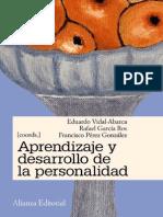 Aprendizaje y desarrollo de la personalidad - Vidal, Garcia y Perez.pdf
