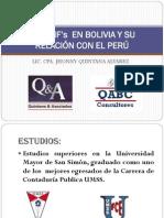 NIIF EN BOLIVIA