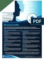 ib learner profile poster