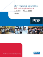 SKF Training Solutions Training Calendar 2014 15