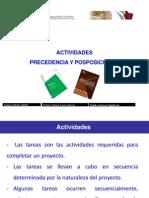 2-01 Actividades - Tipos de Relaciones - Predecesores