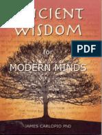 [James Carlopio] Ancient Wisdom for Modern Minds