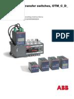 ABB OTM ATS Auto Transfer Switch Instruction Manual