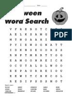 Wintergreen Halloween Word Search