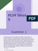M2M Week 6 - Student Version