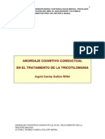 Abordaje Cognitivo Conductual en El Tratamiento de La Tricotilomania