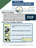 Manual Rapid de Instalare Router DLink Di524