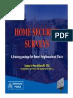 home security training nhw presentation part 1