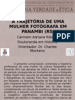 A Trajetória de Uma Mulher Fotógrafa em Panambi