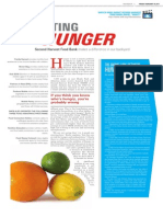 the paper fighting hunger 2 pgs
