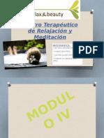 Centro Terapeutico de Relajacion y Meditacion - IV