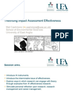 Theorising the Effectiveness of Impact Assessment Instruments