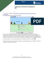 MII-U3- Actividad 2. Laboratorio Virtual de Cinemática II (Movimiento Acelerado)