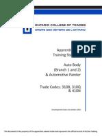 Auto Body Collision Dam Repr Br. 1 310B Auto Body Repr Br.2 310Q Auto Painter 410N en TS 3