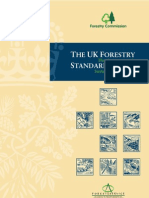 The UK Forestry Standard - The Government's Approach to Sustainable Forestry