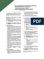 Instructivo de Garantia - CEE - Technosystems