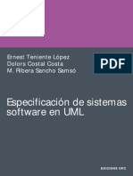 Especificacion de Sistemas de Software en UML