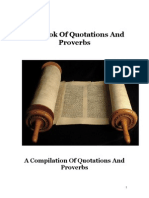 The Book of Quotations and Proverbs