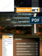 BlenderArt Magazine -19 Rigging & Constraints