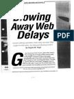 Blowing Away Web Delays