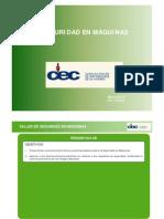 CEC Seguridad en Máquinas
