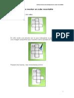 Instrucciones Montaje Cubo Recortable
