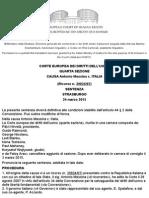 ANTONIO MESSINA v. ITALY - [Italian Translation] by the Italian Ministry of Justice