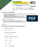 Plan de Superación Trigonometría