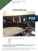 06-09-2015 Llegan a Cabildo de Hermosillo Dos Partidos Nuevos