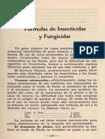 Fórmulas de Insecticidas y Fungicidas