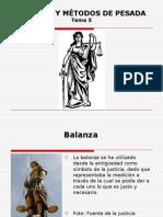05_balanza y Métodos de Pesada
