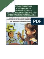 Planificaciones de Clase Cultura Estetica Ecuador