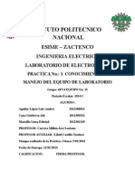 Laboratorio de Electronica 1(Practica 1)