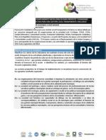 TDR Consultoría para elaborar la línea de base de un proyecto
