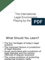 The International Legal Envoirnment