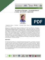 16 - La Ingeniería e Innovación en El Paraguay – Una Mirada Desde El Ámbito Estatal Universitario y Empresarial