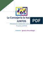 Programa Consejería - Juntos CADe 2016
