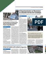 """El Beti Jai se respetará como dotación cultural y deportiva (Dirario """"Gente en Madrid"""". 29/09 a 02/10 2015)"""