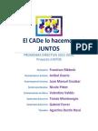 Programa Directiva - Juntos CADe 2016