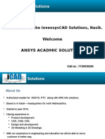 InvensysCAD Solutions _ANSYS Acadmic Program