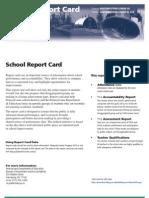 NWL Report Card 2008-09 NWE