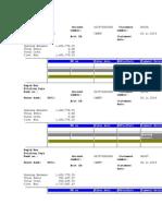 Bank Statement (Various Formats)