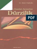 Ahmet Bağlıoğlu-İnanç Esasları Açısından Dürzilik